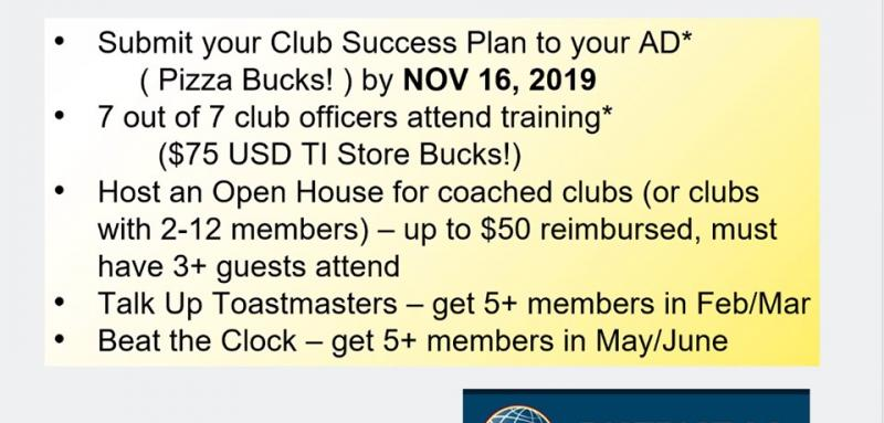 District 96 Incentives - Nov 2019
